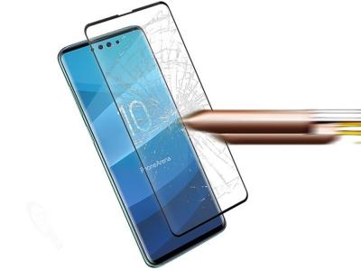 Стъклен Протектор Full Glue 5D за Samsung Galaxy S10, Черен
