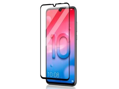 Стъклен Протектор 5D Full Glue за Huawei P Smart 2019 , Черен