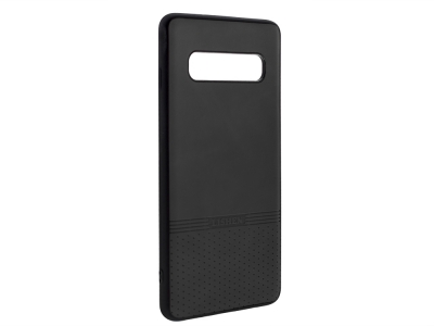 Силиконов гръб Lishen за Samsung Galaxy S10, Черен