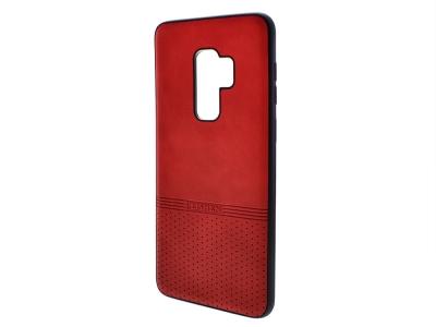 Силиконов гръб Lishen за Samsung Galaxy S9 Plus, Червен