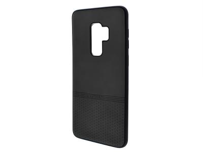 Силиконов гръб Lishen за Samsung Galaxy S9 Plus, Черен