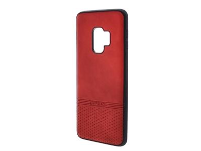 Силиконов гръб Lishen за Samsung Galaxy S9, Червен