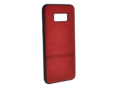 Силиконов гръб Lishen за Samsung Galaxy S8 Plus, Червен