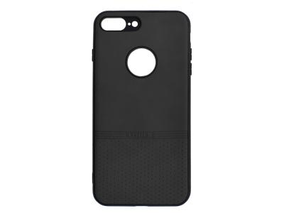 Силиконов гръб Lishen за iPhone 7 Plus/ iPhone 8 Plus, Черен