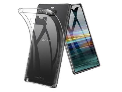 Силиконов гръб за Sony Xperia 10 Plus, Прозрачен