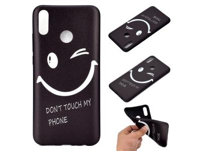 Силиконов Гръб за Huawei Y9 2019, Усмивка