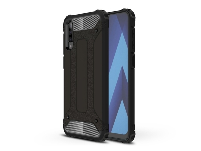 Удароустойчив гръб Armor за Samsung Galaxy A70, Черен
