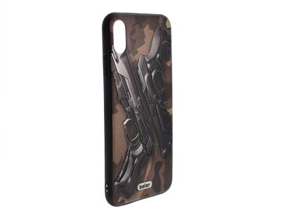 Пластмасов гръб Boter за iPhone XS Max (6.5) , Пистолети