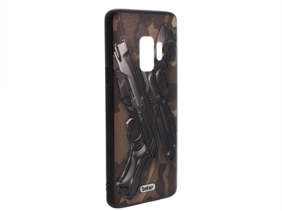 Пластмасов гръб Boter за Samsung Galaxy S9 G960, Пистолети