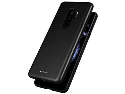 Удароустойчив Гръб Mercury SKINNY за Samsung Galaxy S9 Plus, Черен