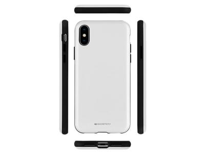 Удароустойчив Гръб Mercury SKINNY за iPhone XS Max, Сребрист