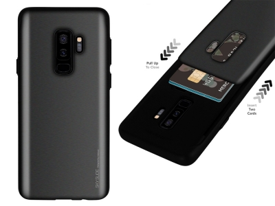 Калъф Гръб SKY SLIDE Mercury за Samsung Galaxy S9 Plus (G965), Черен