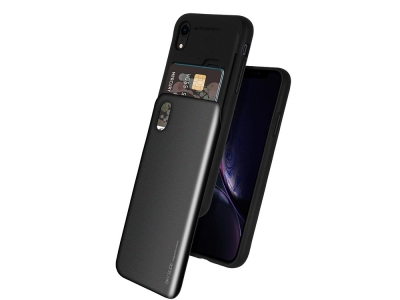 Калъф Гръб SKY SLIDE Mercury за iPhone XR , Черен