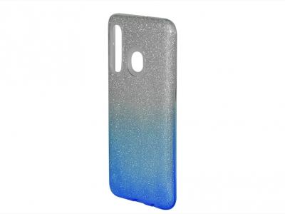 Силиконов Гръб SHINING за Samsung Galaxy А30/А20, Сребрист/ Син