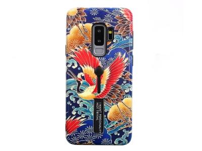 Удароустойчив гръб с Постовка за Samsung Galaxy S9 Plus, Огнена птица