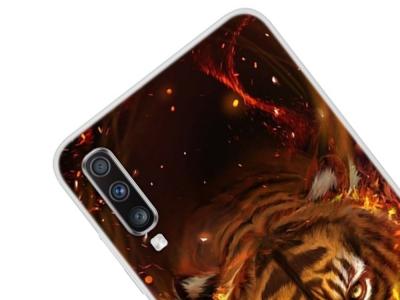 Силиконов Гръб за Samsung Galaxy A70, Тигър