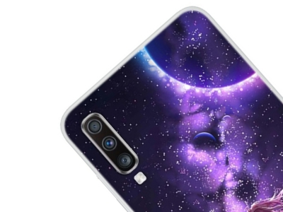 Силиконов Гръб за Samsung Galaxy A70 , Звездно небе