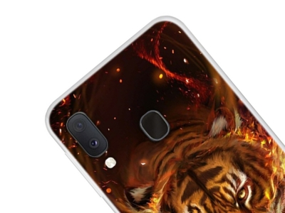 Силиконов Гръб за Samsung Galaxy A20e, Тигър