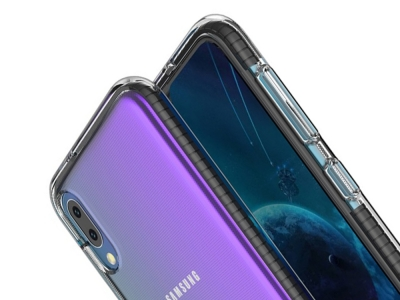 Силиконов Гръб Hybrid Bi-color за Samsung Galaxy A10 / M10, Черен