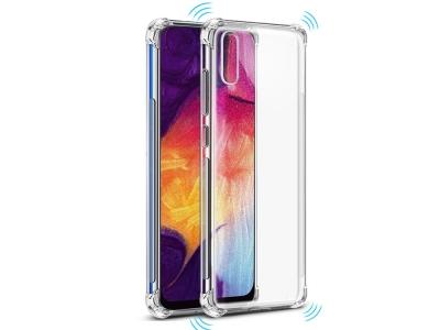 Силиконов Гръб Drop-resistant за Samsung Galaxy A70, Прозрачен