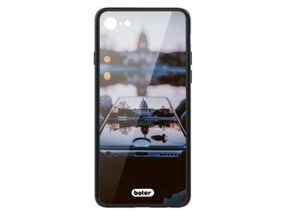 Пластмасов Гръб Glass Boter за iPhone 7 / iPhone 8/ iPhone SE 2020, Отражение