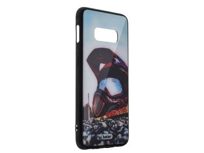 Пластмасов Гръб Glass Boter за Samsung Galaxy S10e, Каска