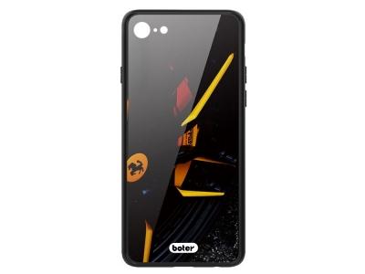 Пластмасов Гръб Glass Boter за iPhone 7 / iPhone 8/ iPhone SE 2020, Ferrari