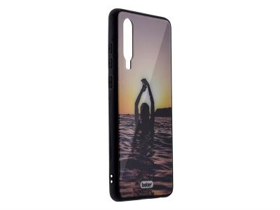 Пластмасов Гръб Glass Boter за Huawei P30, Русалки