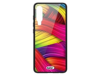 Пластмасов Гръб Glass Boter за Huawei P30, Цветни нишки
