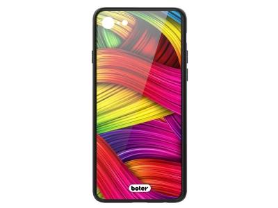 Пластмасов Гръб Glass Boter за iPhone 7 / iPhone 8/ iPhone SE 2020, Цветни нишки