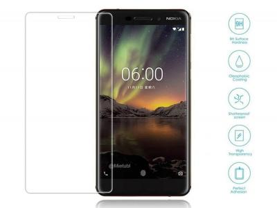Стъклен протектор 3D Full за Nokia 6 (2017), Прозрачен