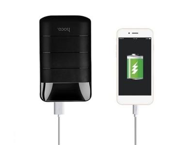 Универсална Външна Батерия HOCO 10000mAh LCD Domon B29, Черен