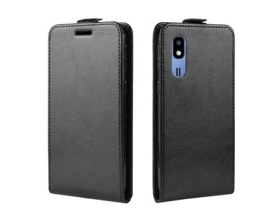 Калъф тефтер за Samsung Galaxy A2 Core , Черен