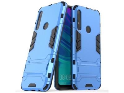Удароустойчив гръб с Поставка за Huawei P Smart Z / Y9 Prime 2019, Син
