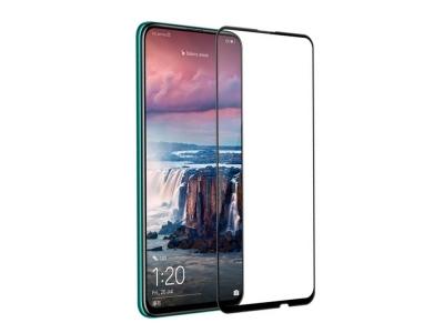 Стъклен протектор 5D Full Glue за Huawei P Smart Z /  Y9 Prime (2019), Черен