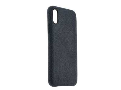 Пластмасов Гръб Texture за iPhone X / XS, Син