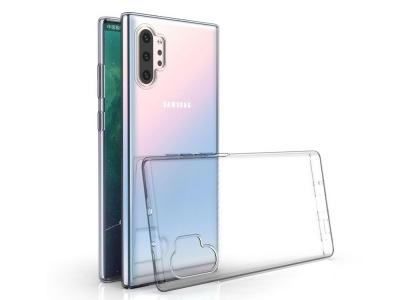 Силиконов гръб за Samsung Galaxy Note10 Plus, Прозрачен