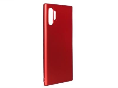 Силиконов Гръб Level за Samsung Galaxy Note 10 Plus, Червен