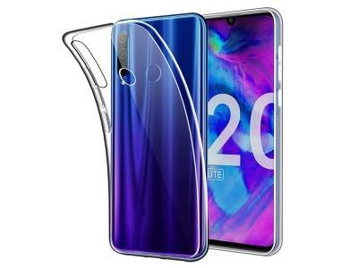 Силиконов гръб за Huawei Honor 20 Lite, Прозрачен