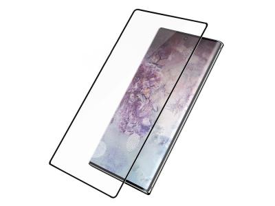 Стъклен Протектор Full Glue 5D за Samsung Galaxy Note 10 Plus (пръстов отпечатък ), Черен
