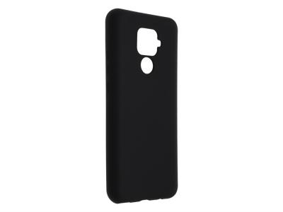 Силиконов Гръб Level за Huawei Mate 30 Lite , Черен