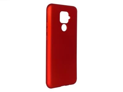 Силиконов Гръб Level за Huawei Mate 30 Lite, Червен