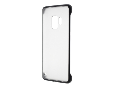 Пластмасов гръб C039 за Samsung Galaxy S9 (G960), Черен