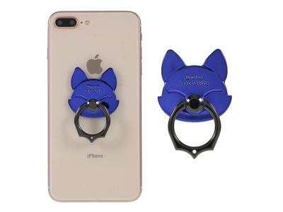 Пръстенче стойка за телефон синя лисица