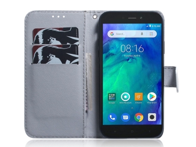 Калъф Тефтер за Xiaomi Redmi Go , Вълк