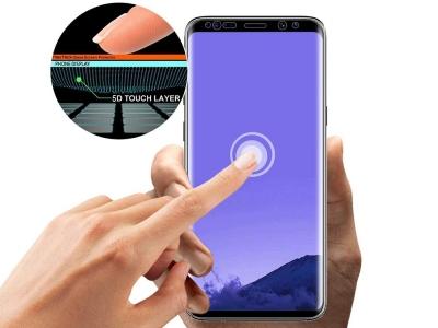 Удароустойчив Протектор 5D Full Glue Nano за Samsung Galaxy S9 Plus, Черен