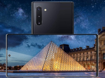 Удароустойчив Протектор 5D Full Glue Nano за Samsung Galaxy Note 10 Plus, Черен