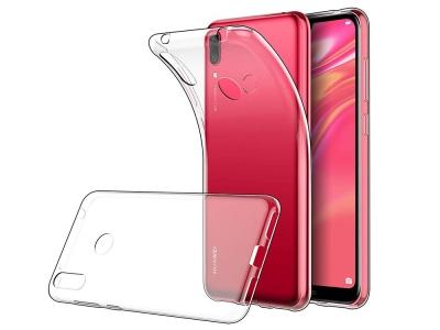 Силиконов гръб за Huawei Y7 (2019) , Прозрачен