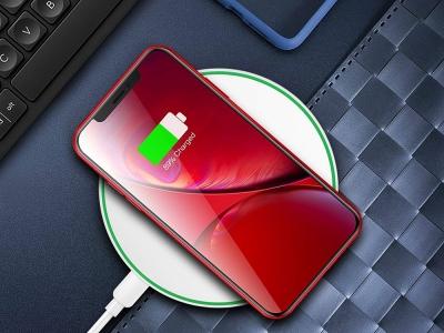 Универсално Безжично Зарядно Wireless QI  FC-01, Бял