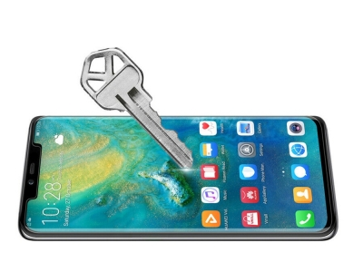 Стъклен Протектор NILLKIN 3D CP+MAX за Huawei Mate 20, Черен